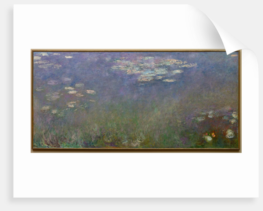 Water Lilies, c. 1915-26 by Claude Monet