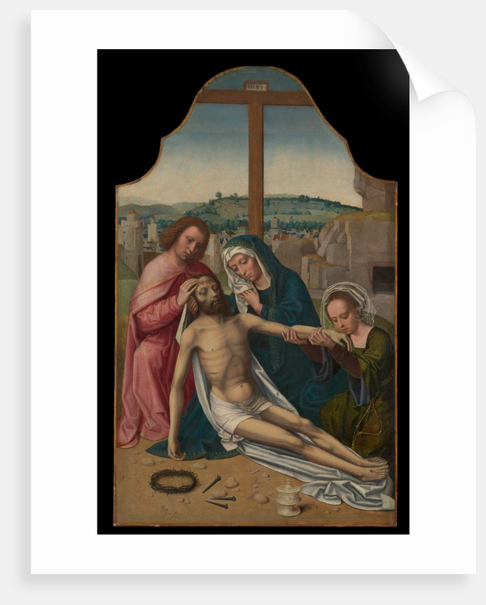 The Lamentation, ca. 1520-25 by Ambrosius Benson