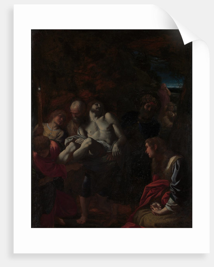The Burial of Christ, 1595 by Annibale Carracci