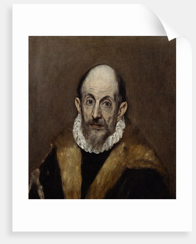 Portrait of an Old Man, ca. 1595-1600 by El Greco