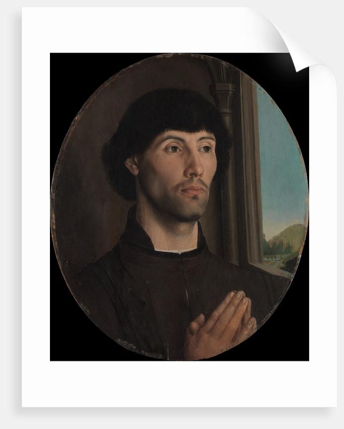 Portrait of a Man, ca. 1475 by Hugo van der Goes