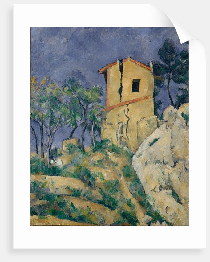 The House with the Cracked Walls, 1892-94 by Paul Cezanne