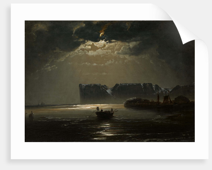 The North Cape by Moonlight, 1848 by Peder Balke