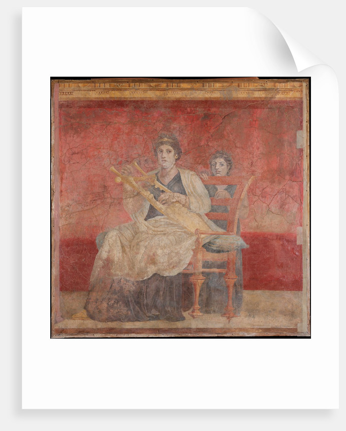 Wall painting from Room H of the Villa of P. Fannius Synistor at Boscoreale, ca. 50-40 B.C by Unknown