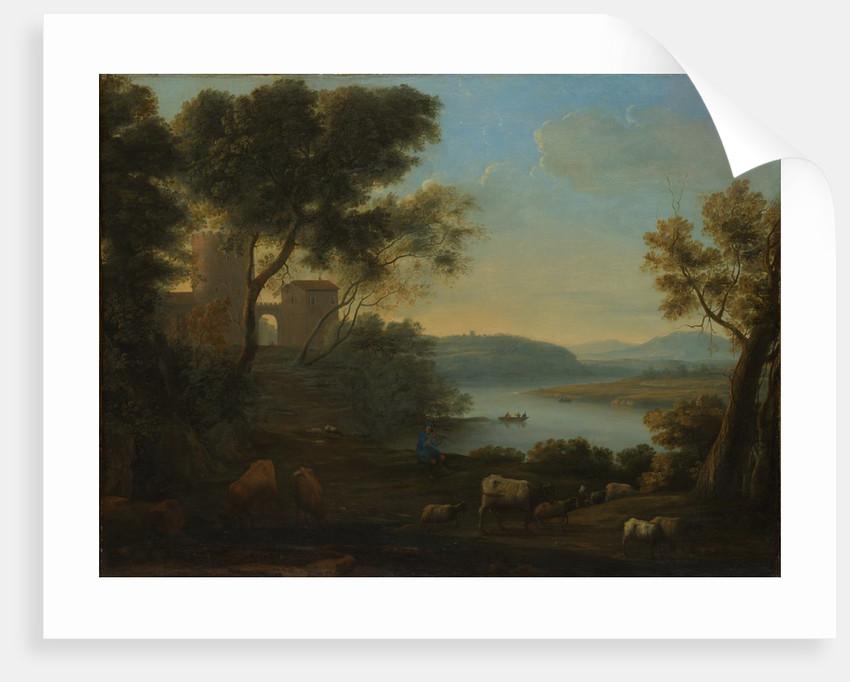 Pastoral Landscape: The Roman Campagna, ca. 1639 by Claude Lorrain