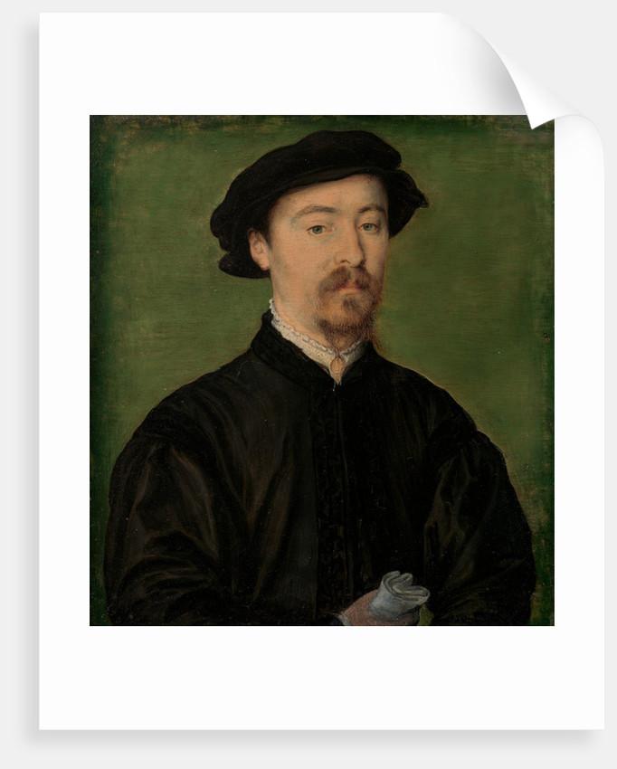 Portrait of a Man with Gloves, 1540-45 by Corneille de Lyon