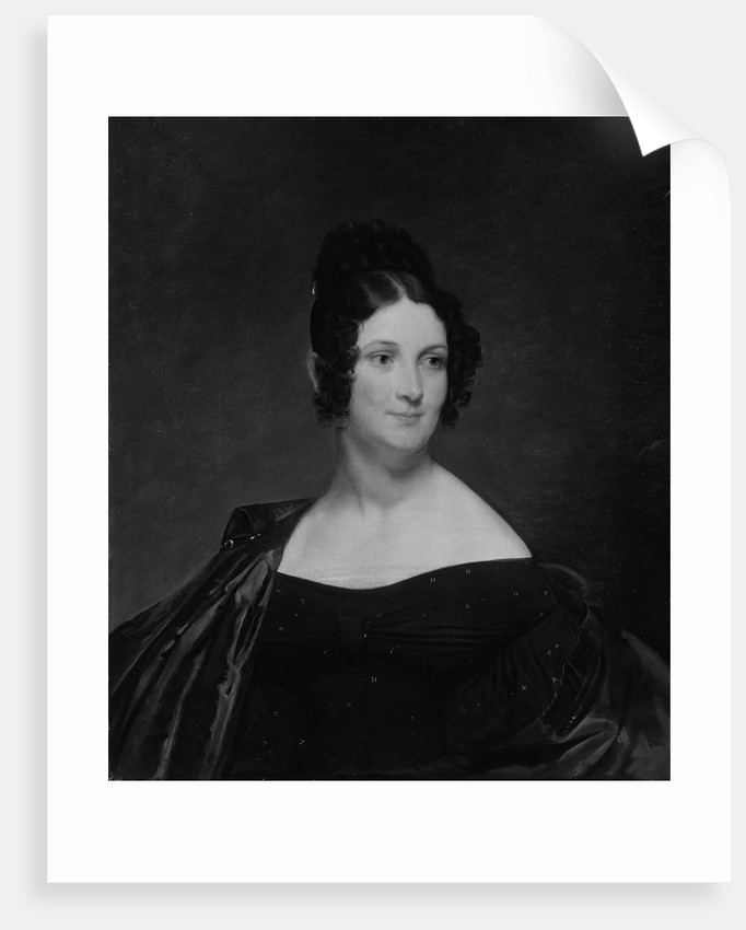 Eunice Harriet Brigham, ca. 1835 by Chester Harding