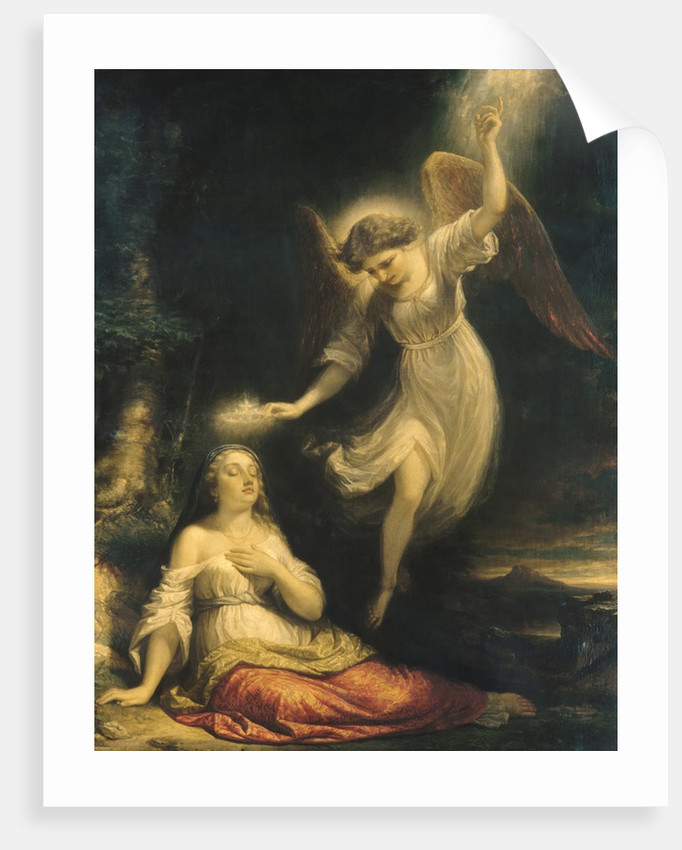 Mercy's Dream, 1858 by Daniel Huntington