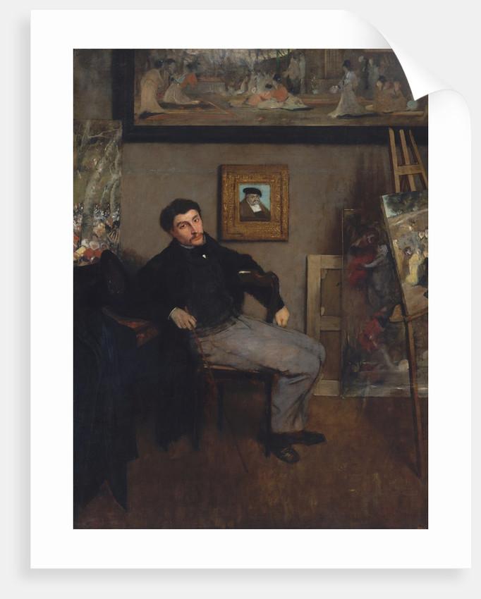 James-Jacques-Joseph Tissot, ca. 1867-68 by Edgar Degas
