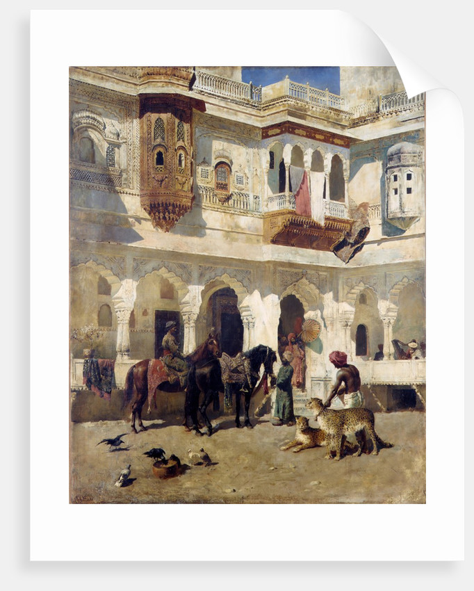 The Rajah Starting on a Hunt, ca. 1885 by Edwin Lord Weeks