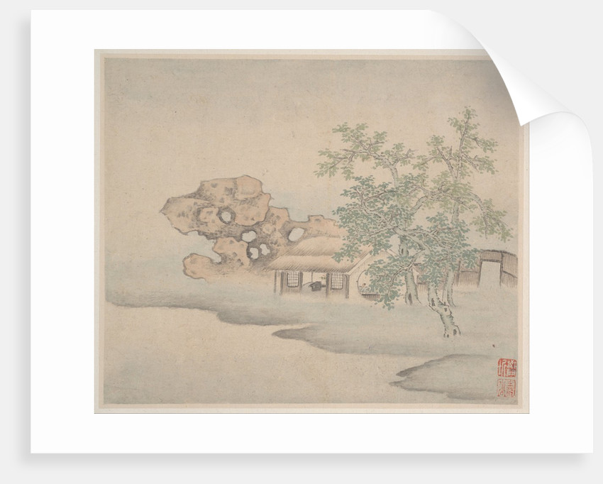 Landscapes, dated 1646 by Fan Qi