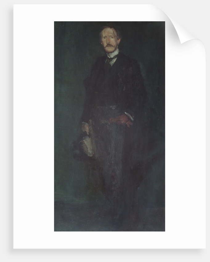 Edward Guthrie Kennedy, 1893-95 by James Abbott McNeill Whistler