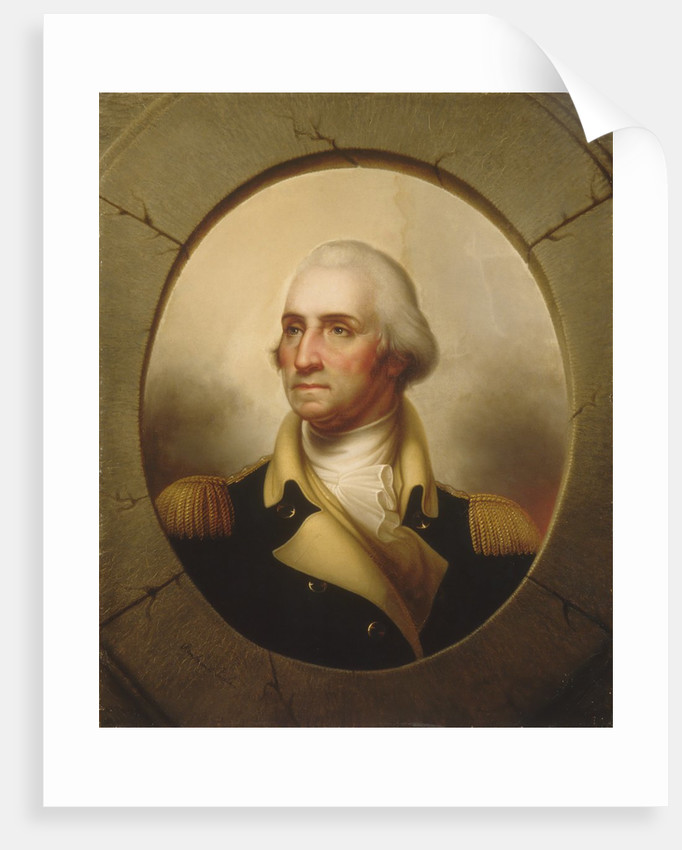 George Washington, ca. 1846 by Rembrandt Peale
