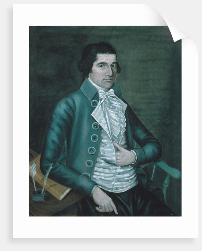 Job Perit, 1790 by Reuben Moulthrop