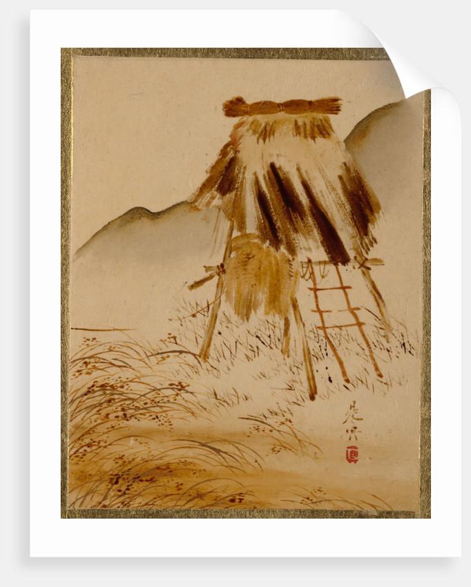 Rice-Drying Frame by Shibata Zeshin