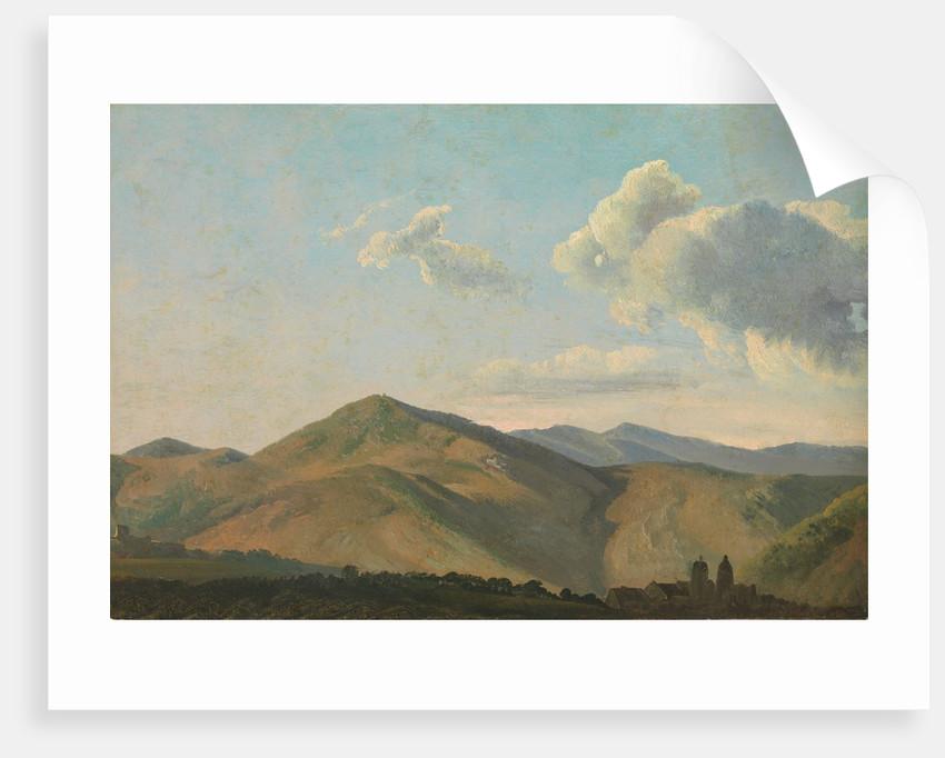 Mountainous Landscape at Vicovaro, ca. 1786-97 by Simon Alexandre Clement Denis