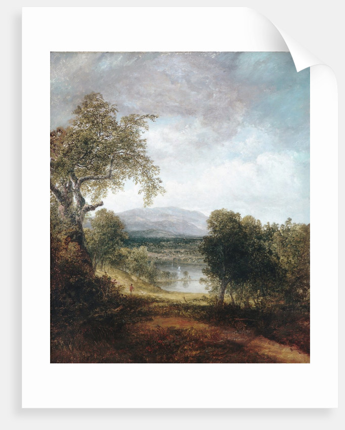 A River Glimpse, ca. 1843-50 by Thomas Doughty