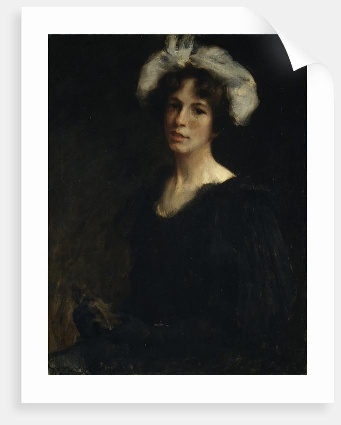 Bessie Potter, ca. 1895 by William Merritt Chase