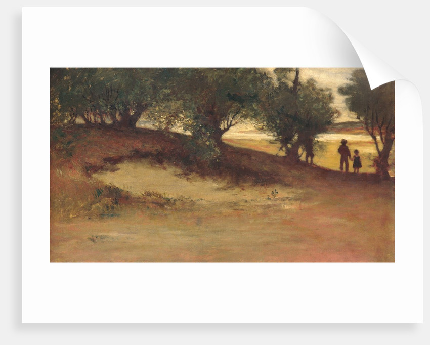 Sand Bank with Willows, Magnolia, 1877 by William Morris Hunt