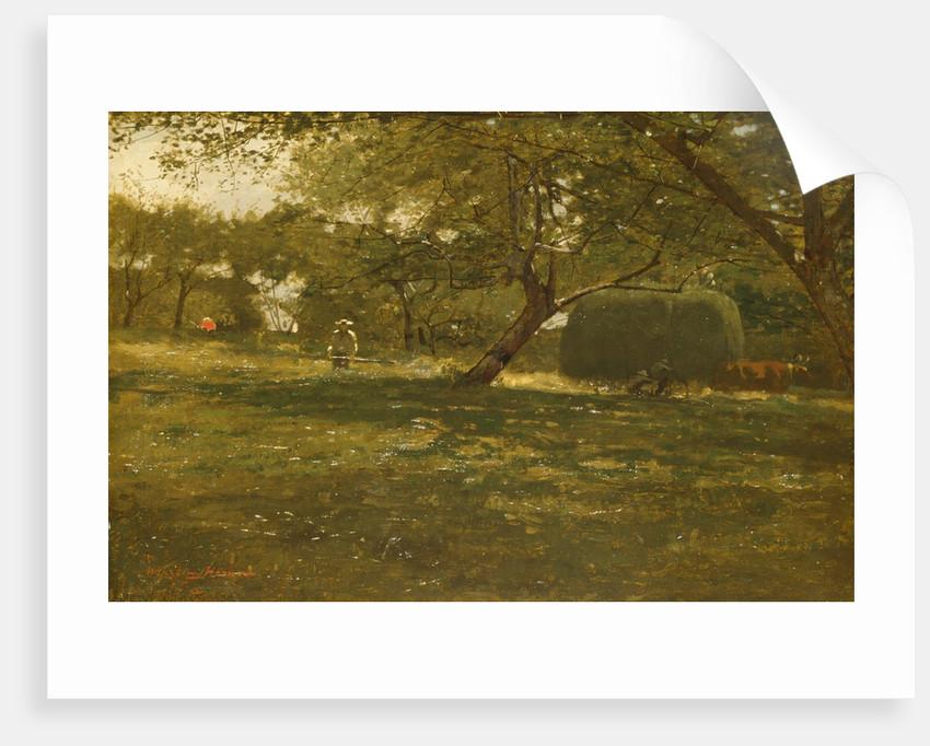 Harvest Scene, ca. 1873 by Winslow Homer