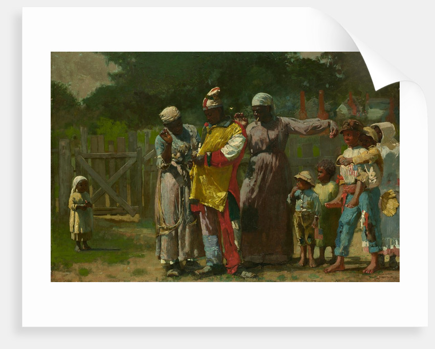 Dressing for the Carnival, 1877 by Winslow Homer
