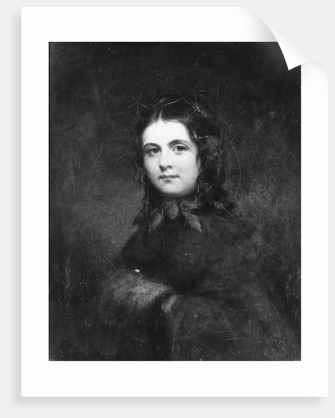 Woman with a Muff, ca. 1850 by Unknown