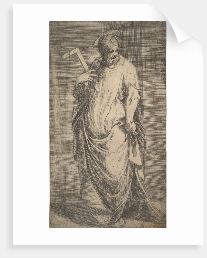 Saint James Minor from 'Christ and the Apostles', ca. 1548-50 by Andrea Schiavone