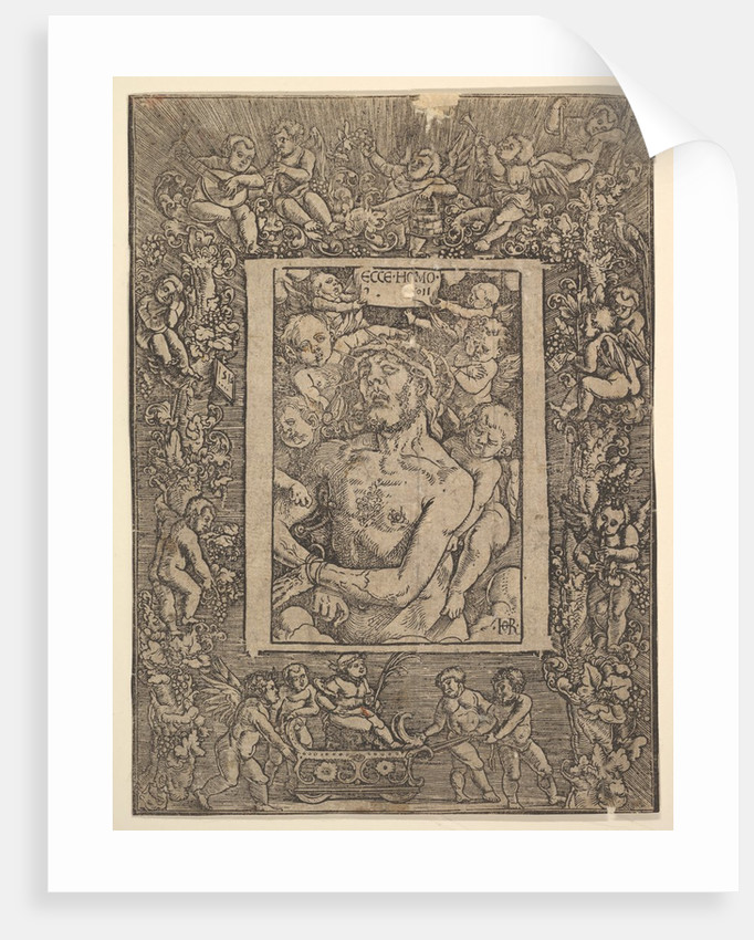 Ecce Homo with Ornamental Border showing the Triumph of Bacchus, 1511 by Hans Baldung