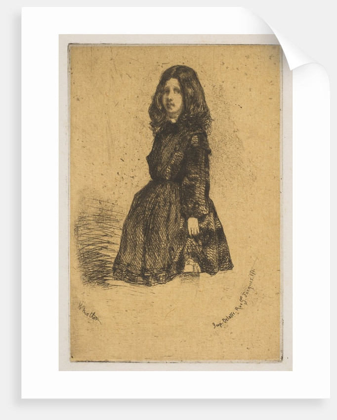 Annie, 1858 by James Abbott McNeill Whistler