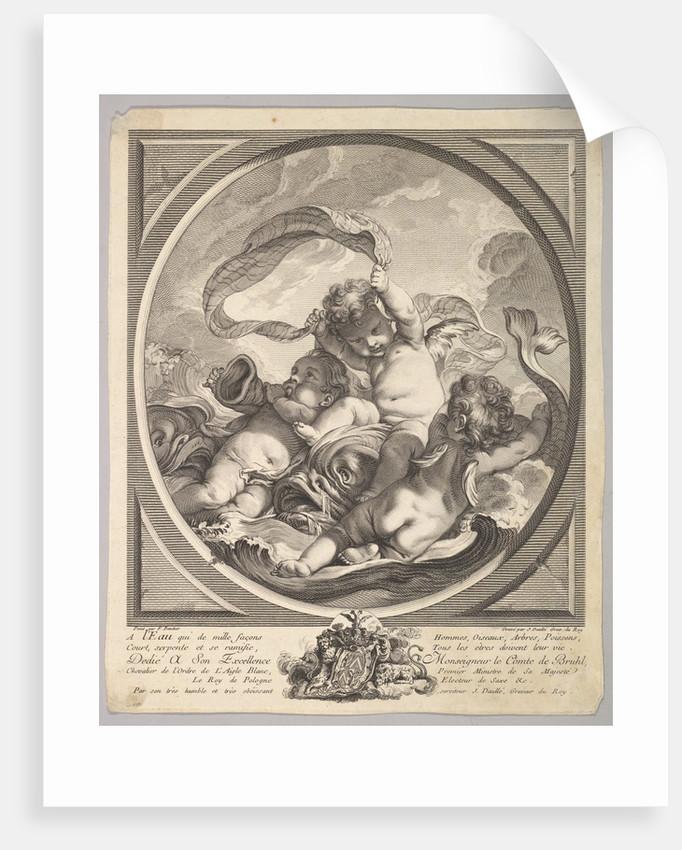 Water, ca. 1748 by Jean Daullé