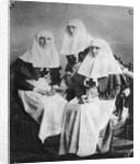 Tsarina Alexandra and Grand Duchesses Olga and Tatiana of Russia, 1914 by Unknown