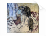 Woman at her Toilette by Edgar Degas
