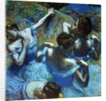 Dancers in Blue by Edgar Degas