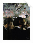 Musicians in the Orchestra by Edgar Degas