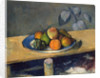Apples, Pears and Grapes by Paul Cezanne