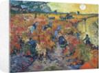 The Red Vineyards at Arles by Vincent Van Gogh