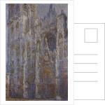 Rouen Cathedral, Noon (Le Portal et la Tour DAlbane), 1893-1894. by Claude Monet