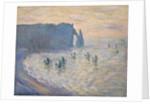 Cliffs at Ètretat by Claude Monet
