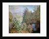 Corner of the Garden at Montgeron, c1876. by Claude Monet