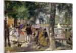 Bathing on the Seine (La Grenouillére) by Pierre-Auguste Renoir
