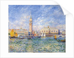Venice, (The Doge's Palace) by Pierre-Auguste Renoir