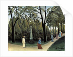 The Luxembourg Gardens, Monument to Chopin by Henri Rousseau