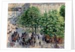 Place du Théâtre Français in Paris. Spring by Camille Pissarro