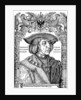 Portrait of Emperor Maximilian I by Albrecht Dürer