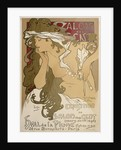 Poster for the XXth Exposition in the Salon des Cent, Paris, France by Alphonse Mucha