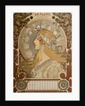 Zodiacal calendar by Alphonse Mucha