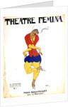 Poster for Igor Stravinsky's ballet The Rite of Spring by Leon Bakst