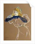 The Singer Yvette Guilbert by Henri de Toulouse-Lautrec