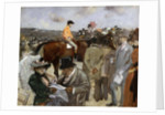Horseracing by Jean Louis Forain