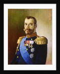 Tsar Nicholas II of Russia, 1890s. by Anonymous